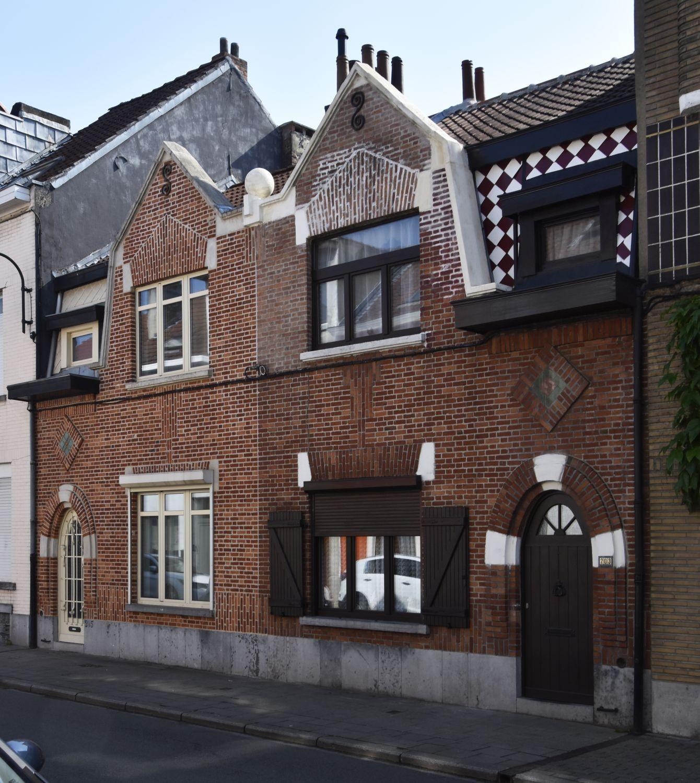 Rue Théophile de Baisieux 205 et 203© ARCHistory / APEB, 2018