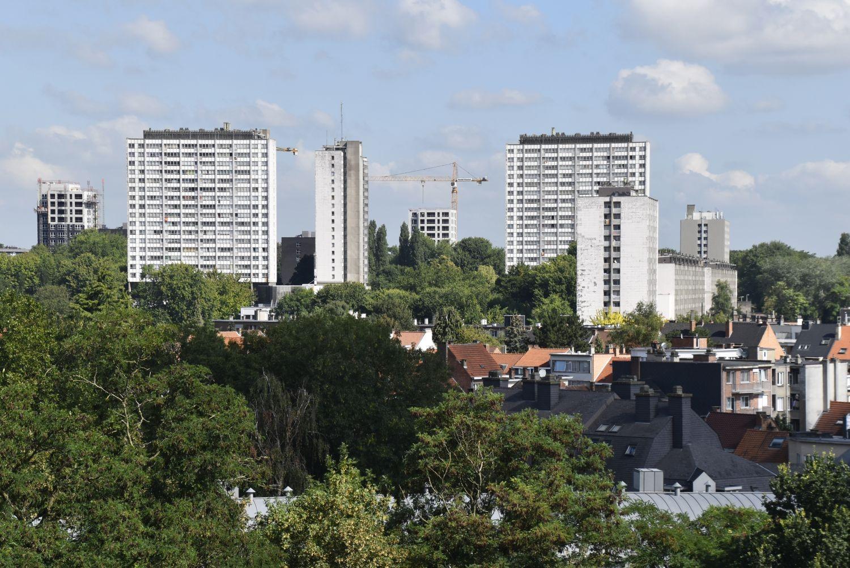 Vue de la Cité Modèle depuis le sud-est© (© ARCHistory / APEB, 2018)