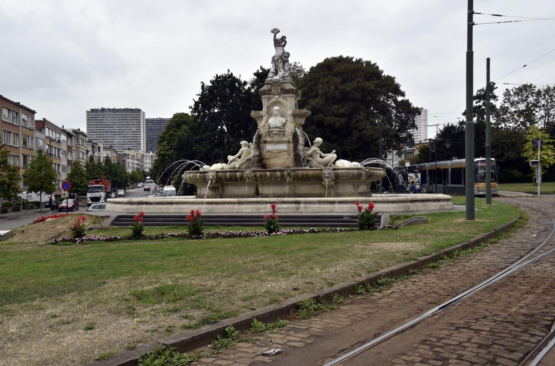 Square Jean Palfyn, fontaine De Brouckère© ARCHistory / APEB, 2018