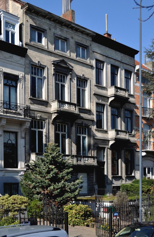 Avenue Eugène Plasky 40 et 42, 2011
