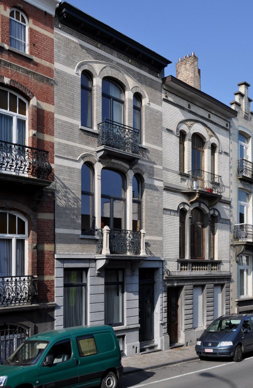 Rue de Linthout 60 et 58, 2011