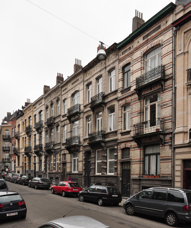Rue Théodore Roosevelt 60 à 50, 2012