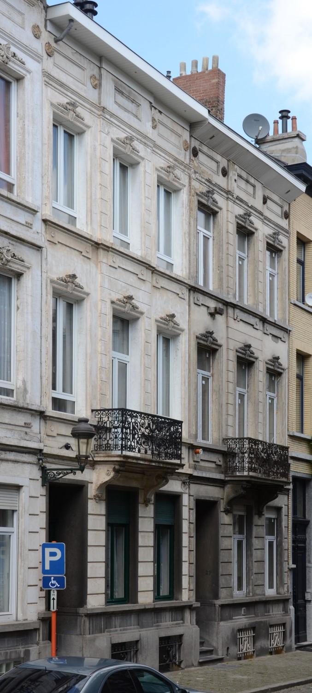 Rue Emmanuel Hiel 31 et 29, 2014