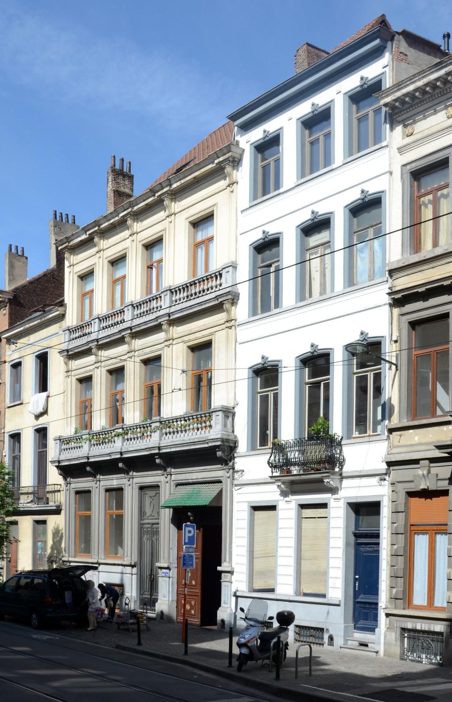 Rue Gallait 70-70a et 72, 2014