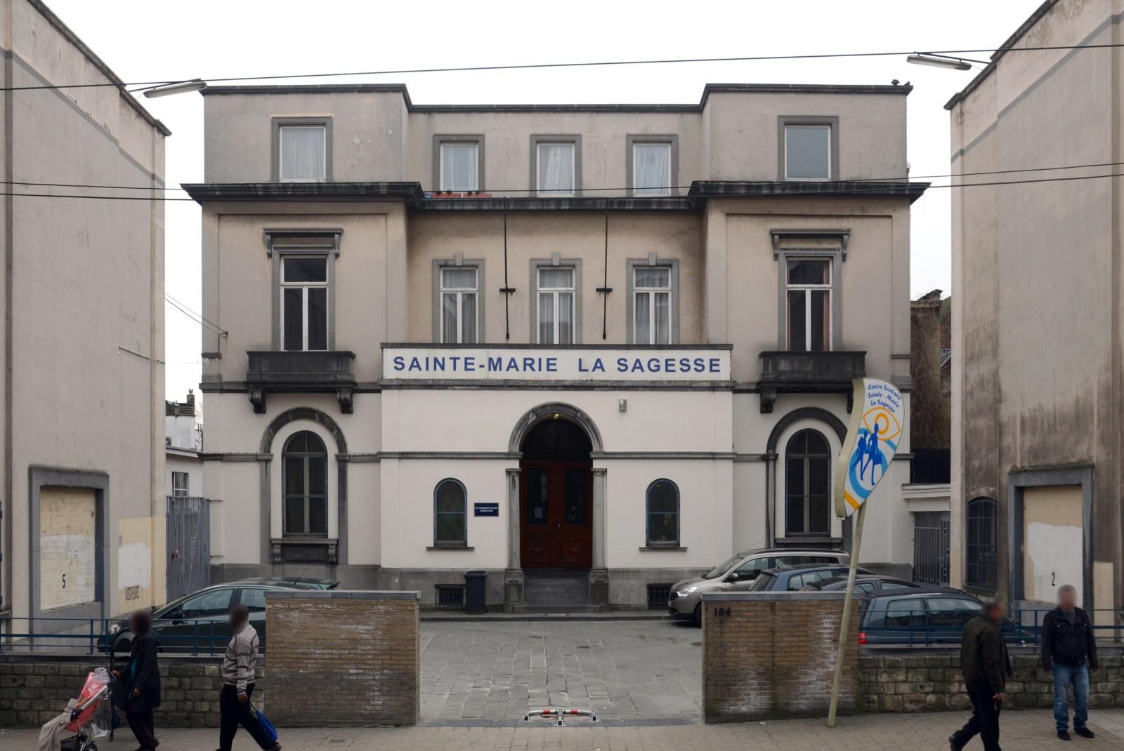 Chaussée de Haecht 164-166, Centre scolaire Sainte-Marie La Sagesse, ancienne villa (C), 2013