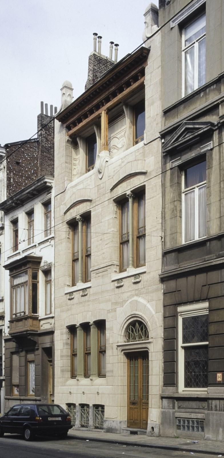 Haachtsesteenweg 266, Autriquehuis© (Foto Ch. Bastin & J. Evrard © MBHG)