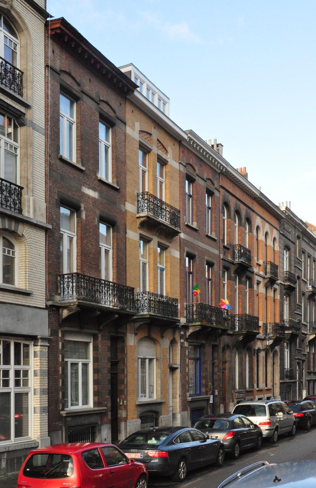 Rue Henri Bergé 79 à 71, 2012