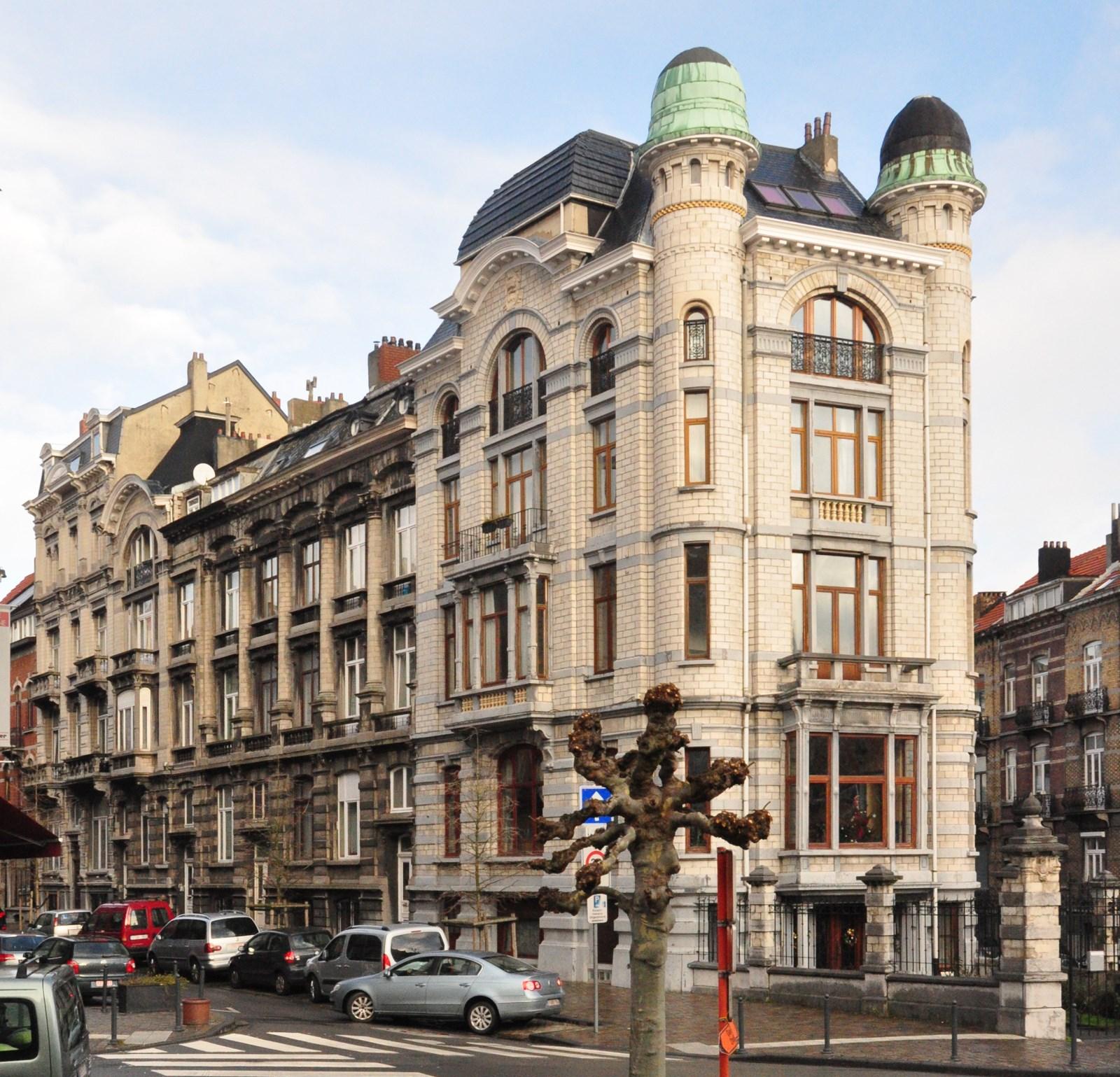 Rue Henri Bergé 86 à 92 et rue Henri Bergé 94 - avenue Louis Bertrand 50 - rue Joseph Brand 123, 2012