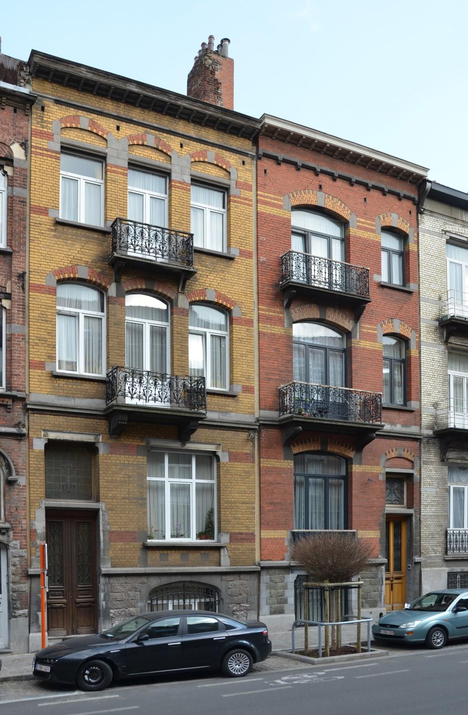 Rue Metsys 69 et 67, 2014