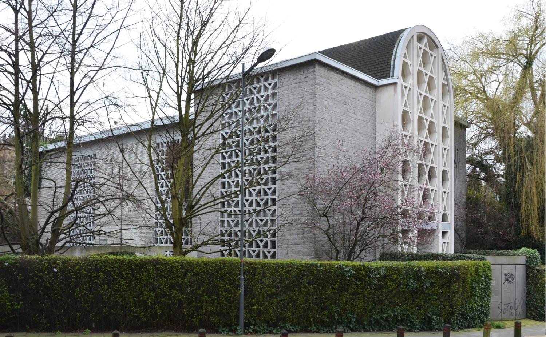 Rue du Pavillon 47, synagogue, 2014