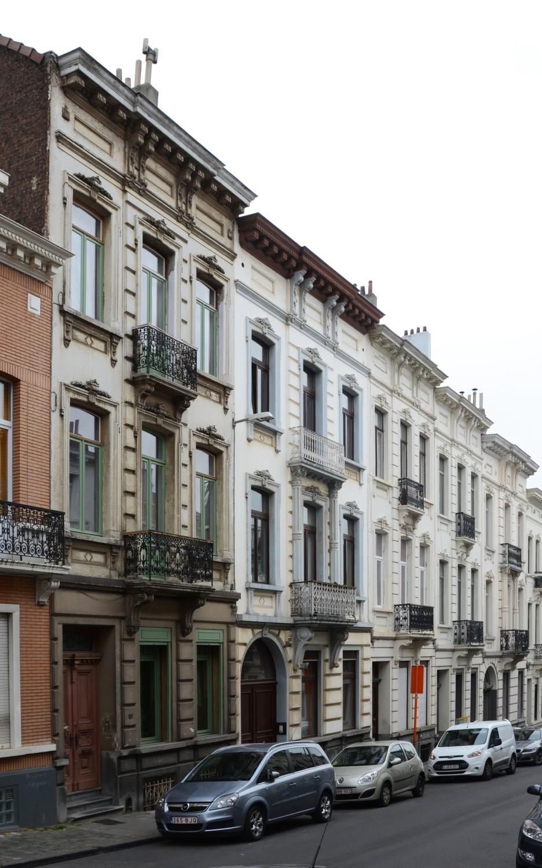 Rue Vandermeersch 61 à 53, 2014