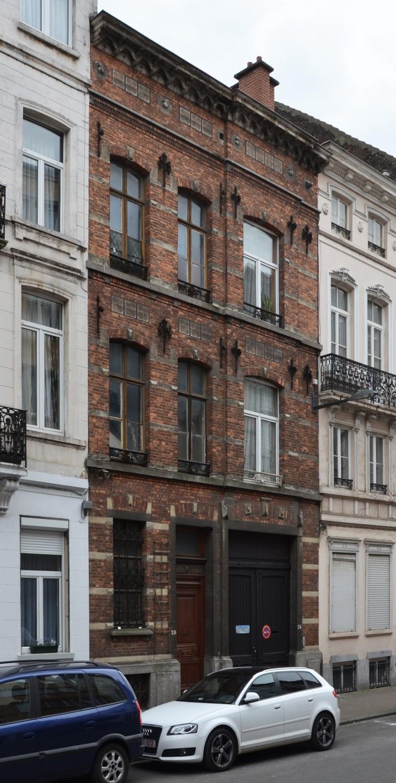 Rue Van Schoor 26-28, 2014