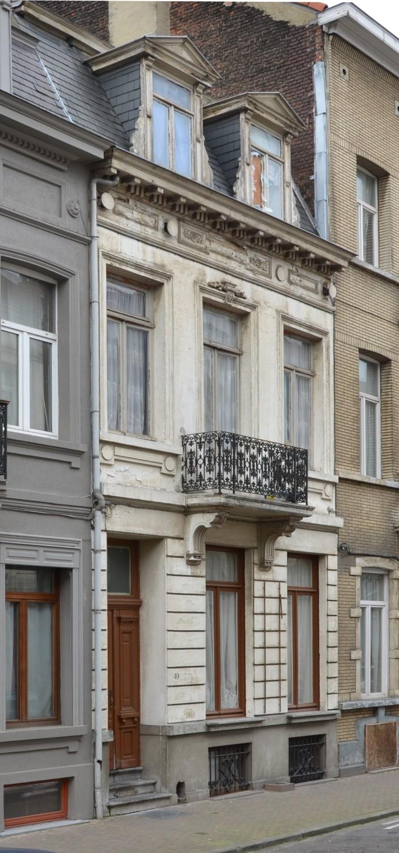 Rue Van Schoor 49, 2014