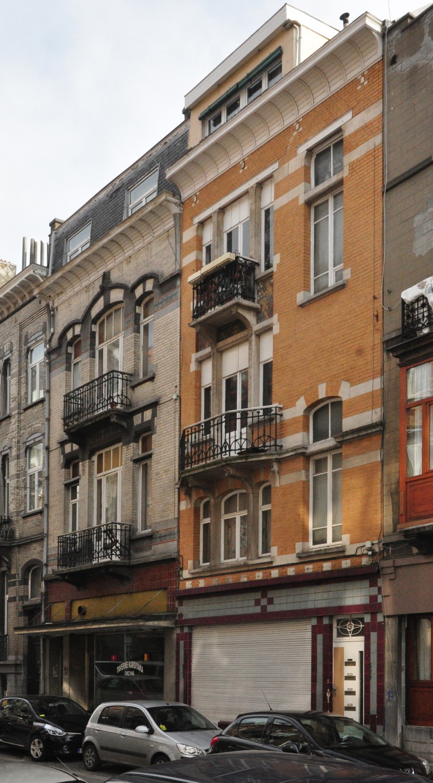 Rue Josaphat 324-326 et 320-322, 2013