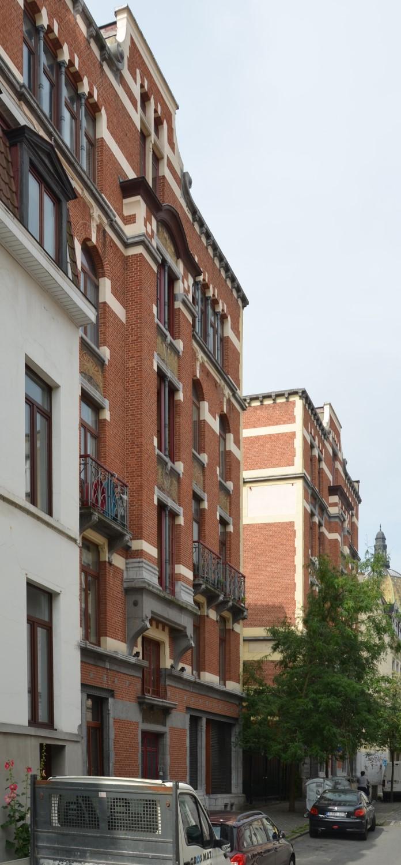Rue L'Olivier 40-44 et 16-20, 2014
