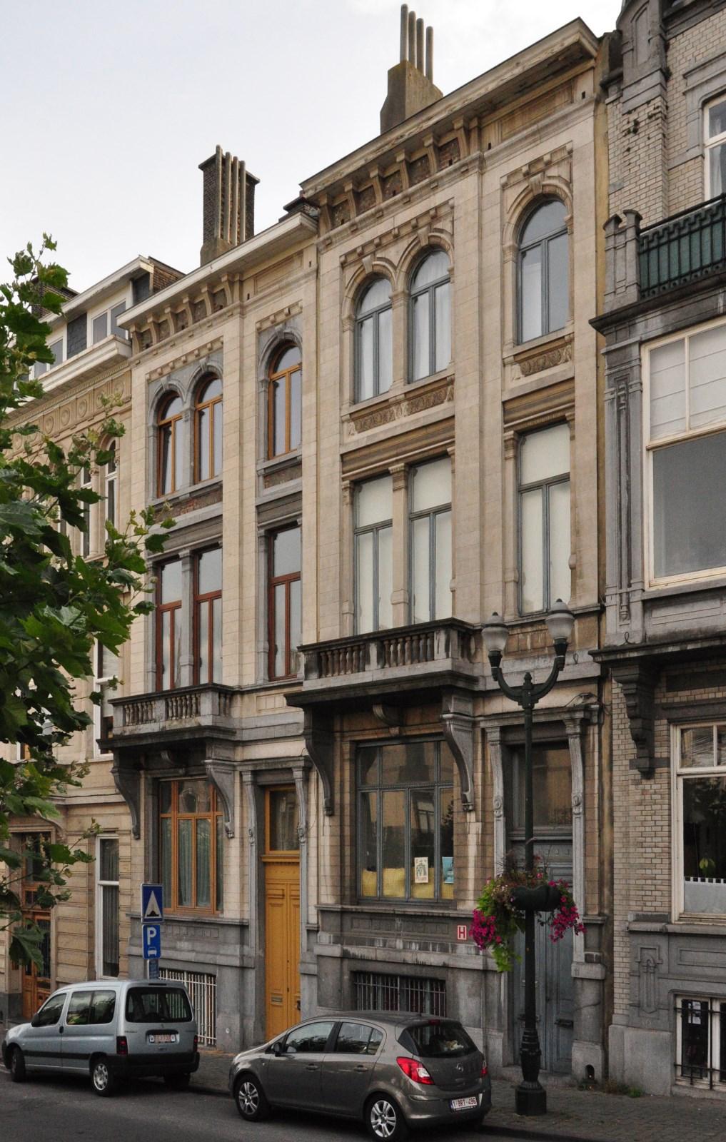 Avenue Louis Bertrand 13 et 11, 2012