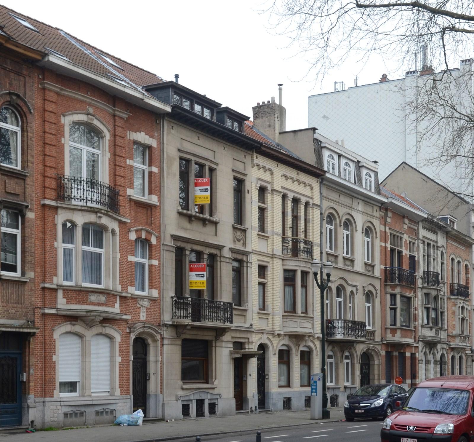 Avenue Paul Deschanel 77 à 65, 2013