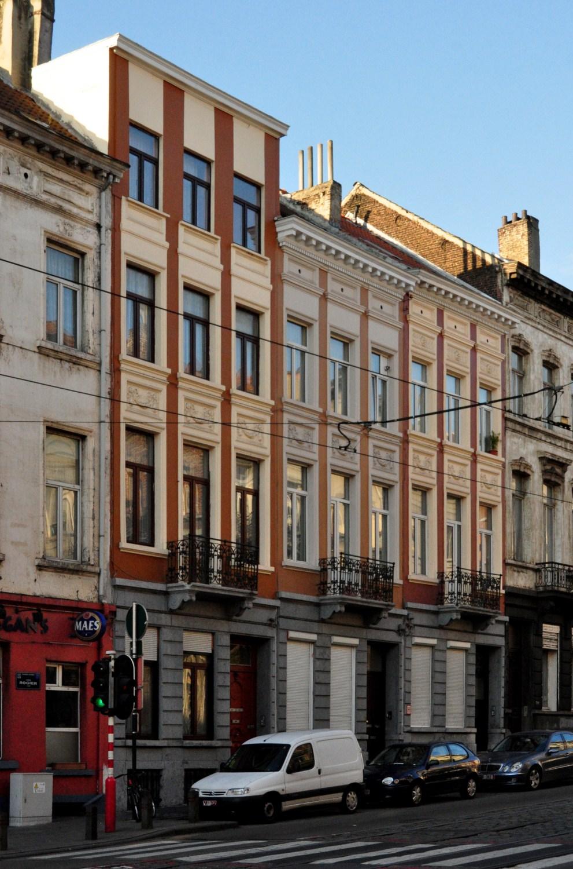 Avenue Rogier 77 à 73, 2011