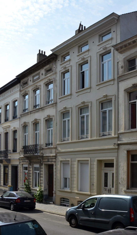 Rue Seutin 18 et 16, 2014