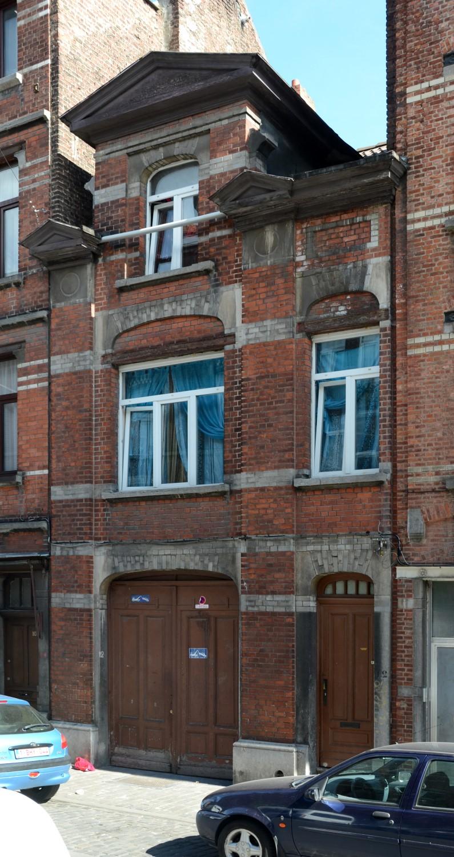 Rue Van Hoorde 12, 2014
