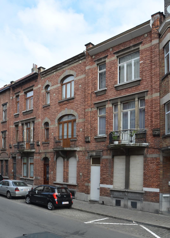 Rue Van Hoorde 16 à 20, 2014