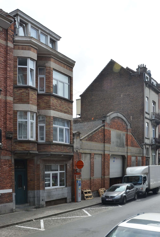 Rue Van Hoorde 24 et 26, 2014