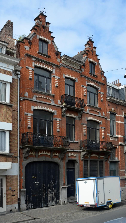 Rue Van Hoorde 33-35, 2014