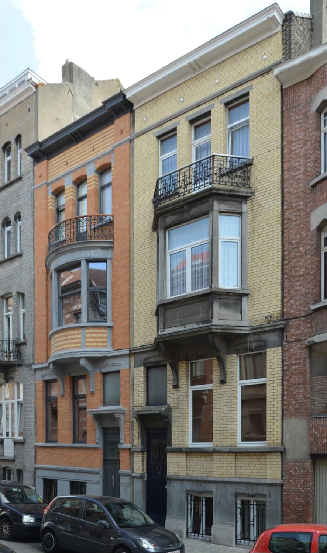 Rue Van Hove 11 et 9, 2014