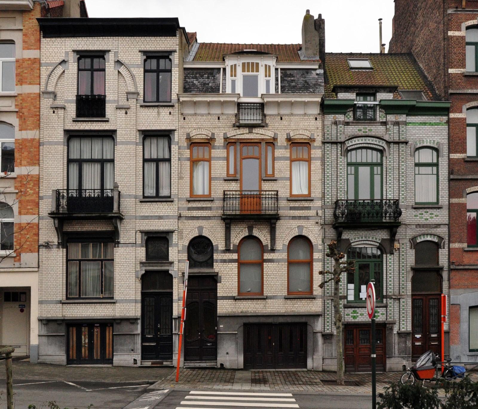 Avenue Émile Verhaeren 39 à 35, 2012