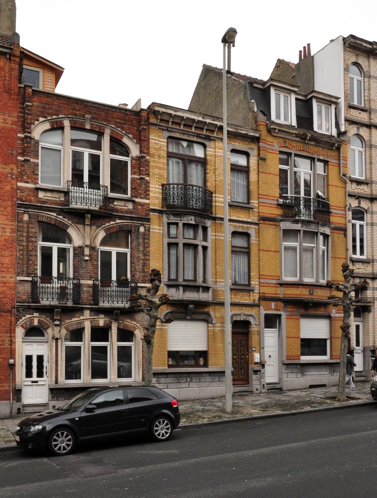 Avenue Émile Verhaeren 68 à 72, 2012