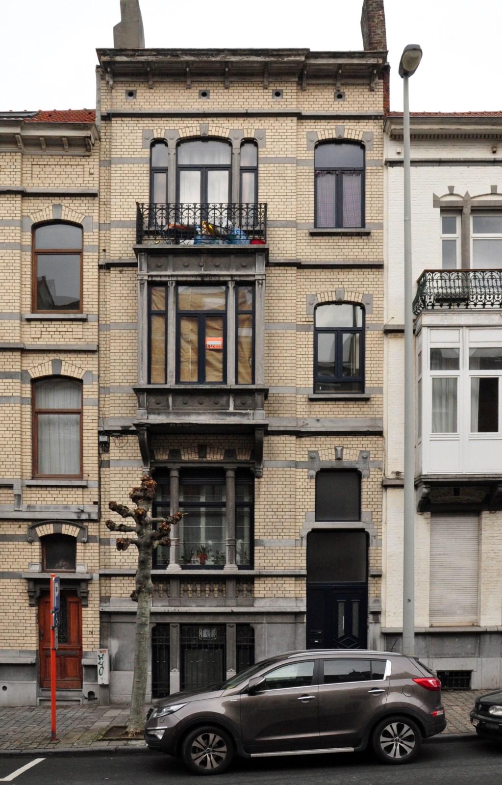 Avenue Émile Verhaeren 78, 2012