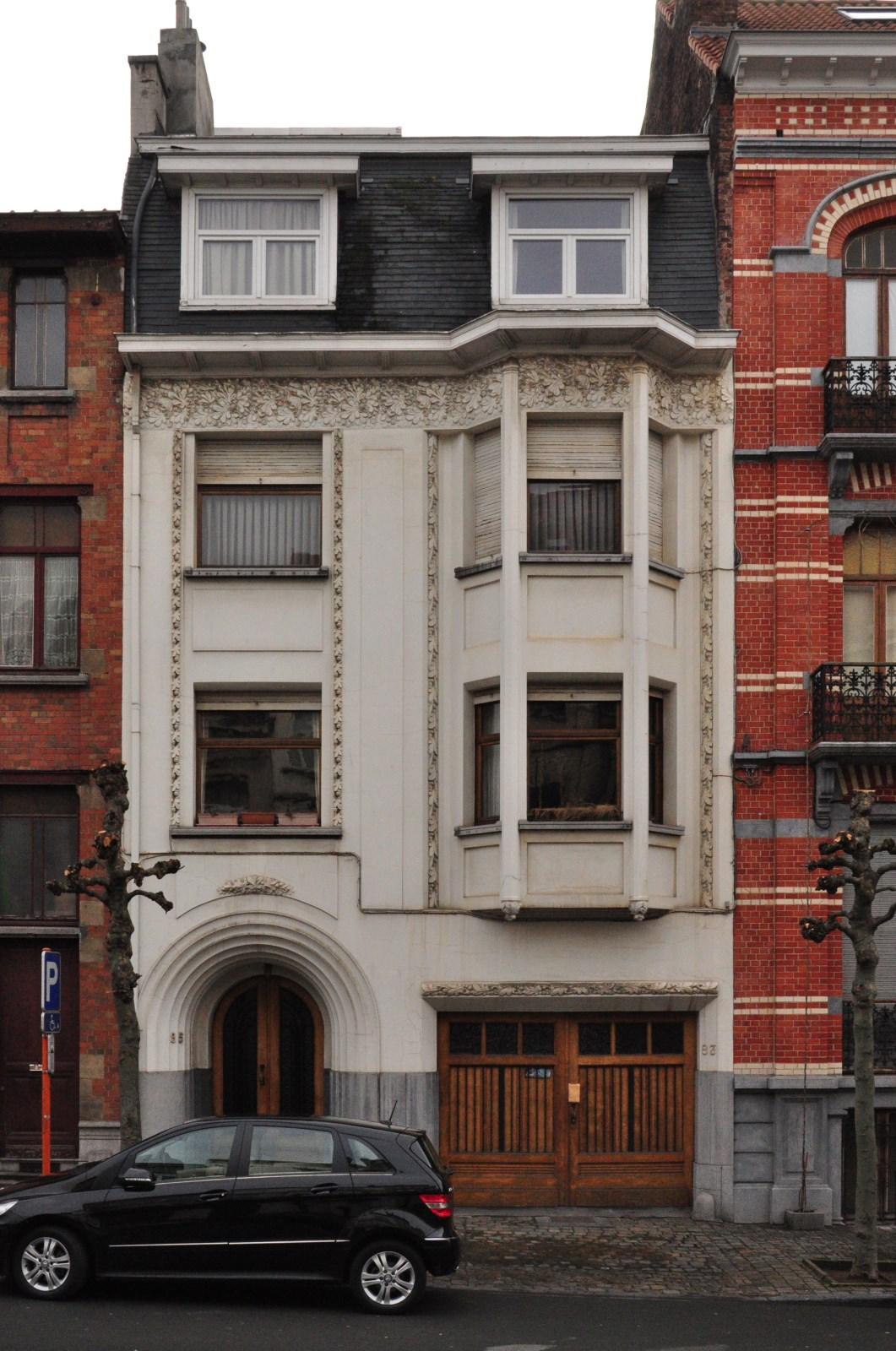Avenue Émile Verhaeren 83-85, 2012