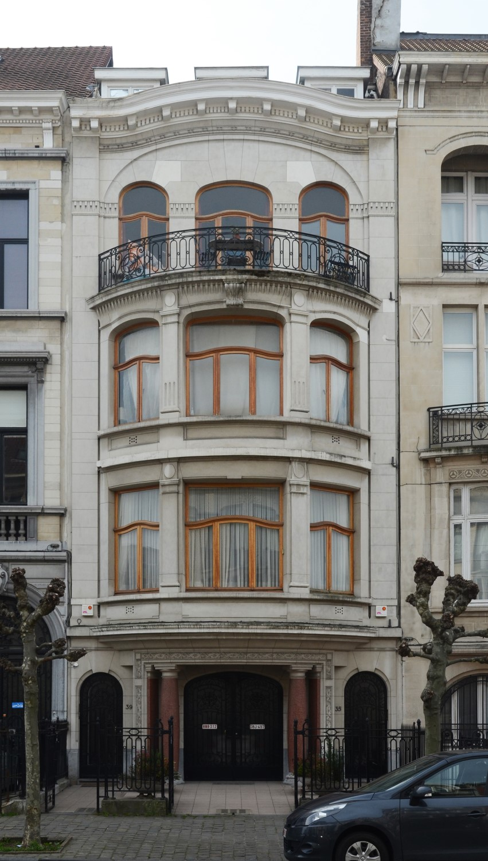 Avenue Eugène Demolder 35-39, 2013
