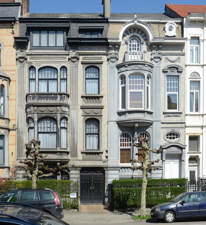 Avenue Eugène Demolder 52 et 54, 2013