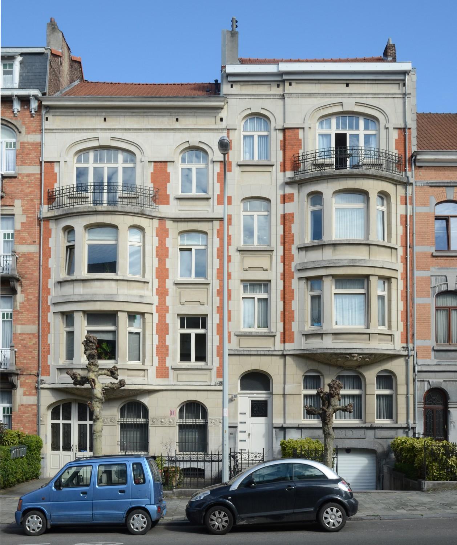 Avenue Eugène Demolder 120 et 122, 2013