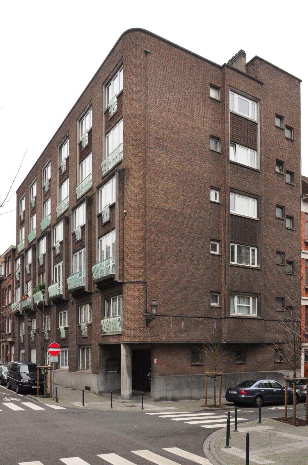Rue Max Roos 26-28, 2012