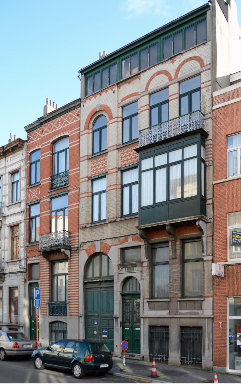 Rue François-Joseph Navez 55 et 51-53, 2014