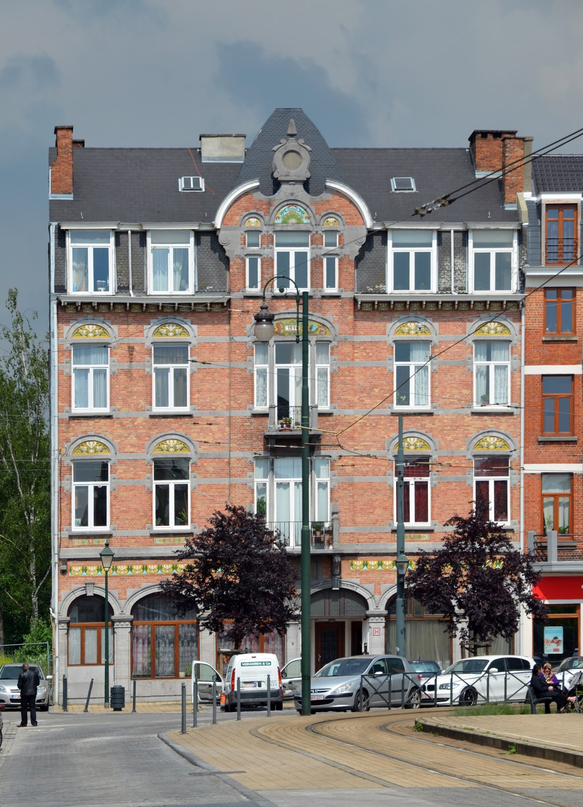 Place Princesse Élisabeth 9, 2012