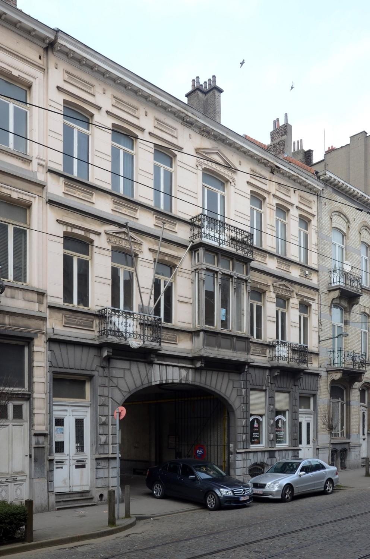 Rue Van Oost 52 et 54, ancienne Brasserie Roelants, 2013