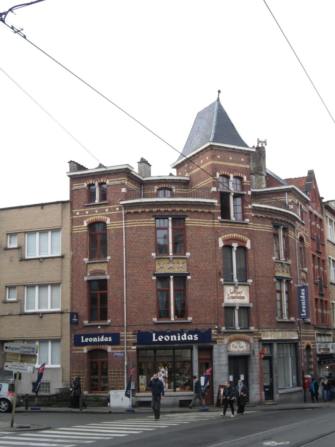 Rue du Foyer Schaerbeekois 2-4