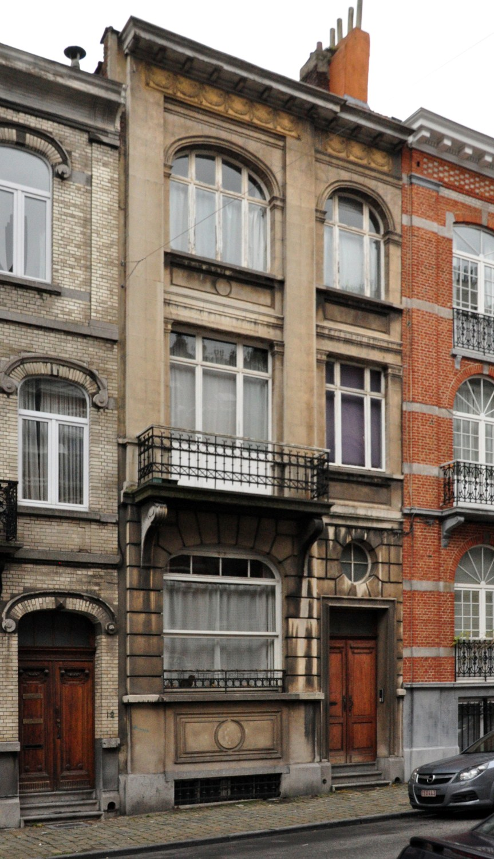 Rue Frans Binjé 10, 2012