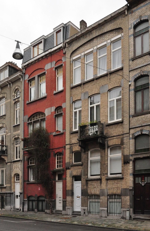 Rue Frans Binjé 25 et 27, 2012