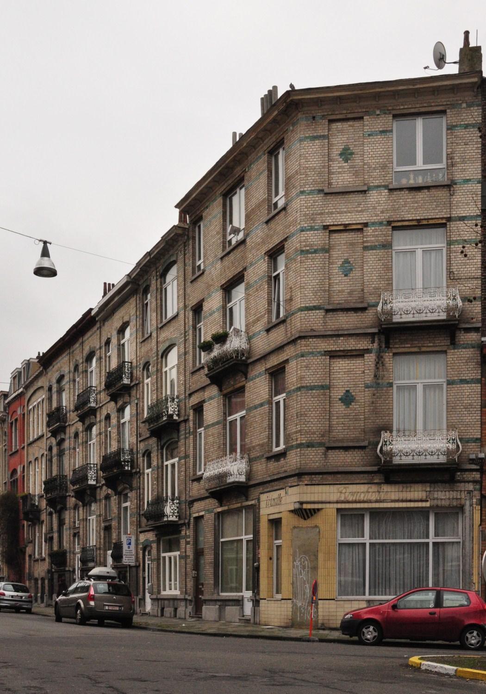 Rue Frans Binjé 29 à 37 - rue Josse Impens 92, 2012