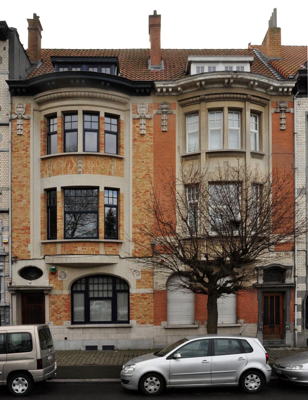 Avenue Jan Stobbaerts 123 et 121, 2011