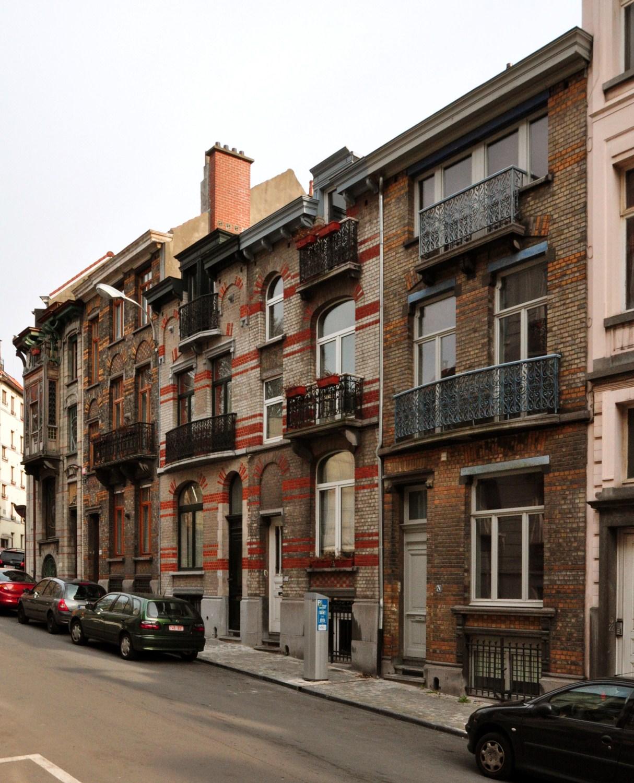 Rue André Van Hasselt 30 à 24, 2012