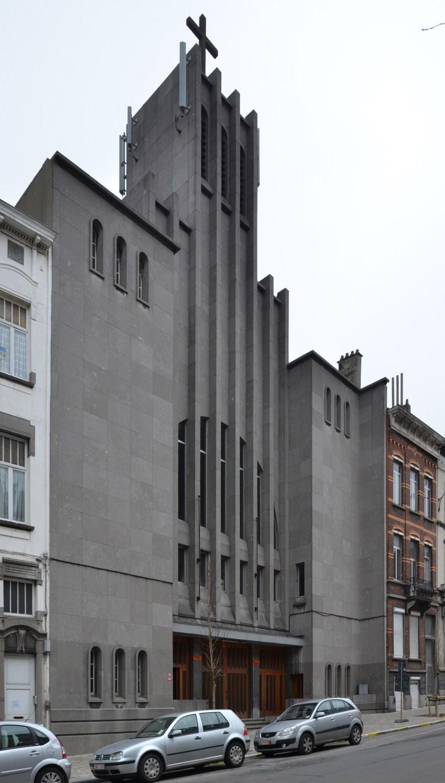Avenue Dailly 136-142, église Sainte-Alice, 2012