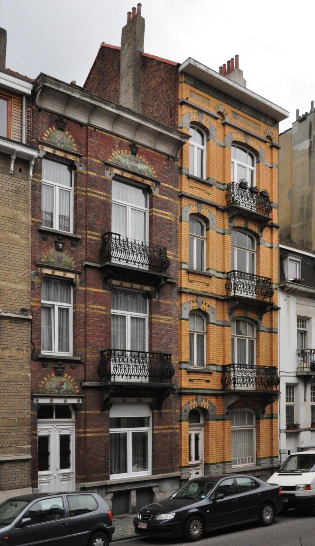 Rue Joseph Coosemans 31 et 29, 2012