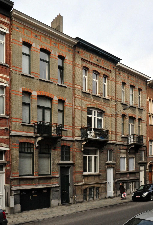 Rue Joseph Coosemans 68 à 72, 2012