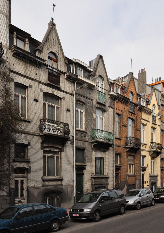 Rue Joseph Coosemans 80 à 86, 2012