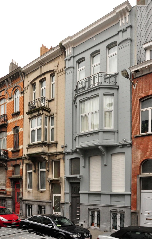 Rue Léon Mignon 43 et 41, 2012